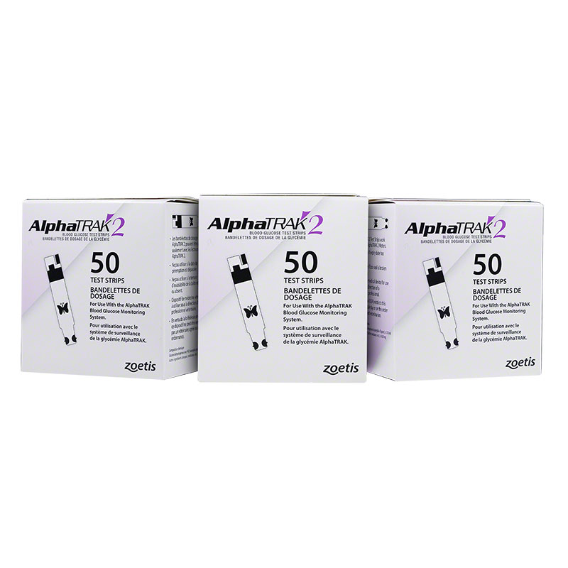 AlphaTRAK 2 Blood Glucose Test Strips, 150 Count