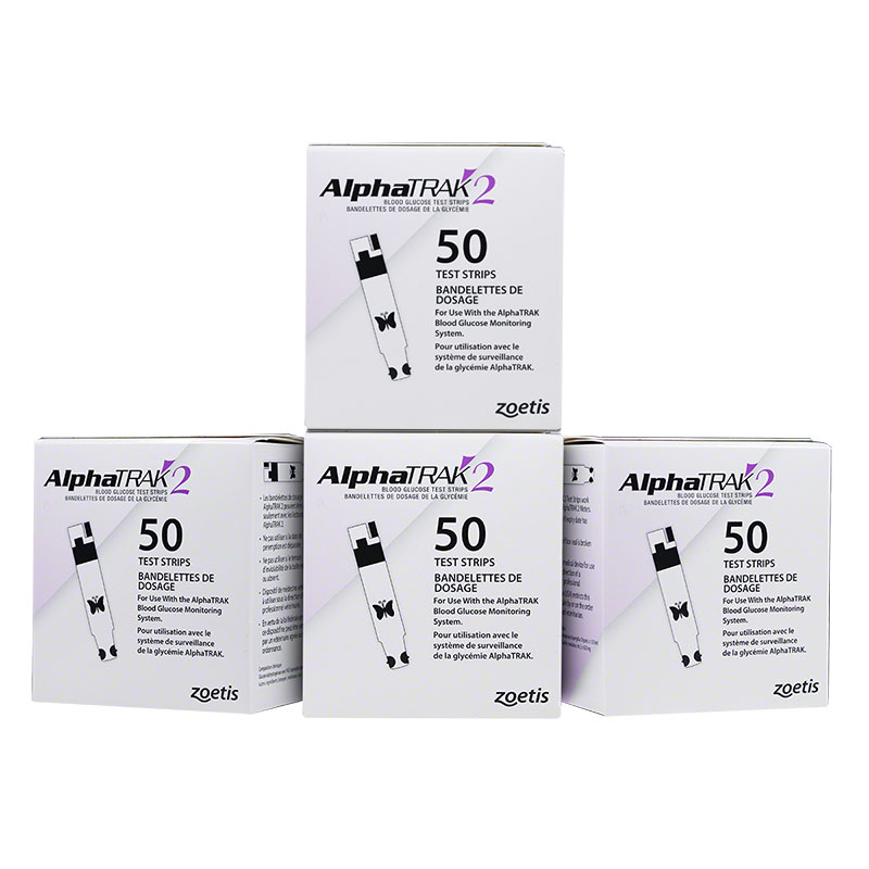 AlphaTRAK 2 Blood Glucose Test Strips, 200 Count