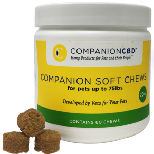 Companion Soft Chews – 20 MG  For Pets up to 75lbs