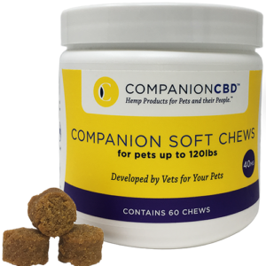 Companion Soft Chews – 40MG  For Pets up to 120lbs